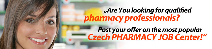 The most popular Czech Pharmacy Job Center